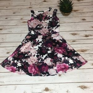 NWT Penelope Tree  A-Line Floral Dress - (Girl) 14